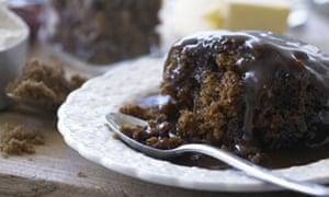 Cartmel sticky toffee pudding, Cumbria