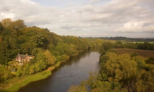 River Eden at Wetheral, Cumbria