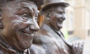 Laurel and Hardy Statue, Ulverston, Cumbria