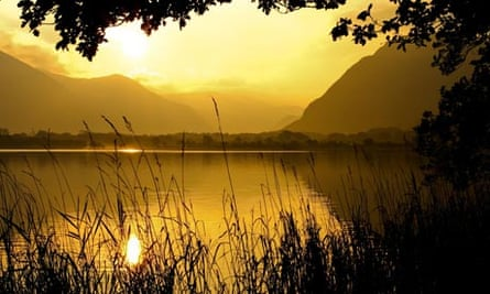 Dawn at Loweswater, the Lake District