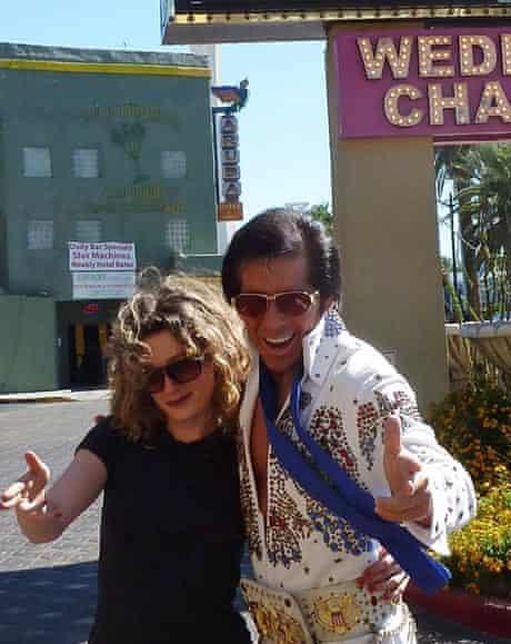 Anna Stothard and Elvis