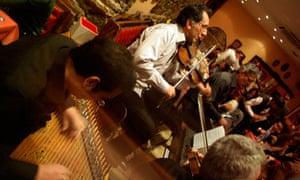 Band players at Galata Meyhanesi