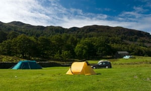 Baysbrown Farm camping, Cumbria