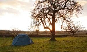 Eden Valley camping, Cumbria