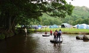 Fisherground campsite, Eskdale