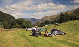 Thirlspot Farm camping, Cumbria