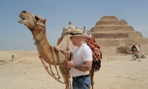 Ryan with a camel