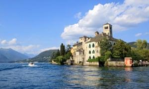 Isola San Giulio, Lake Orta