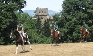 Saddle up … for a ride from castle to castle in Lazio and Tuscany