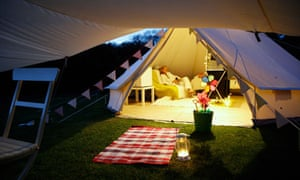 Whitecliff Bay Holiday park yurts