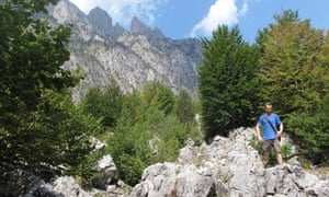 In the Albanian Alps