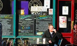 Leadenhall Market Cafe, London