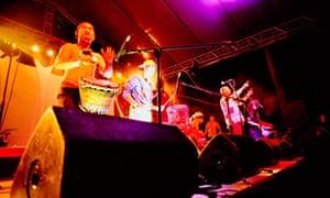 Percussionists, Malasimbo Festival