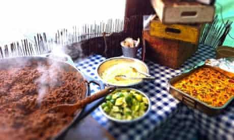 Anna Mae's southern style street food menu