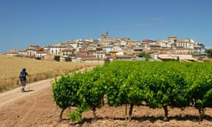 Walking the Camino Frances to Santiago in Spain