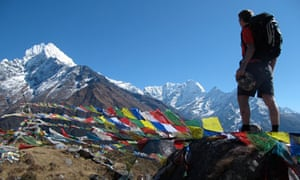 Sam Wollaston gazes at Everest
