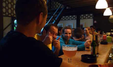 Decibel rock bar, Luxembourg
