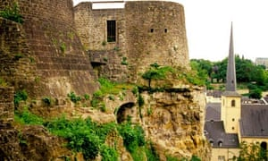 Luxembourg's Casemates fortifications