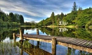 Loch Ard, Trossachs, with Ben Lomond in the distance