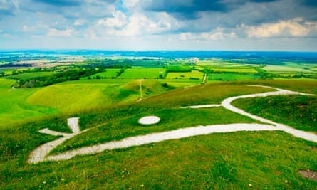View over the Vale of White Horse, Uffington
