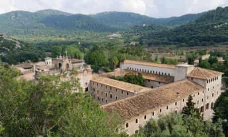 Lluc monastery in Mallorca