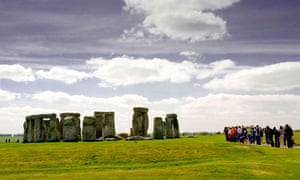 The ancient monument of Stonehenge, Wiltshire England UK
