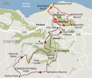 exmoor somerset british walk