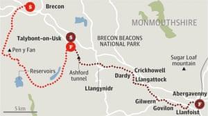 brecon beacons walk