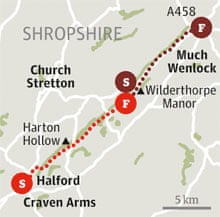 wenlock edge shropshire walk