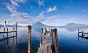 Lake Atitlán in Guatemala