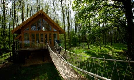 Self Catering Review The Tree House Forton Lancashire