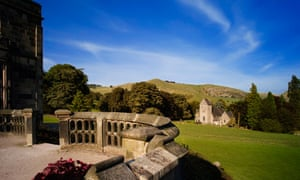 Picture of Ilam hall stately home