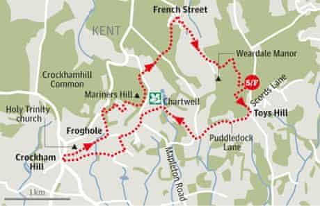 Octavia Hill, Kent walk graphic