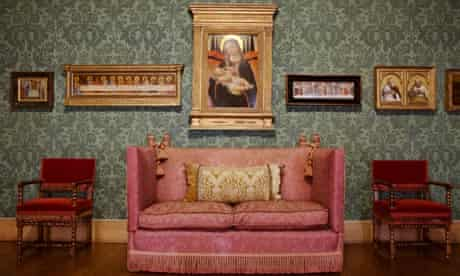 The Picture Gallery at Upton House, Warwickshire