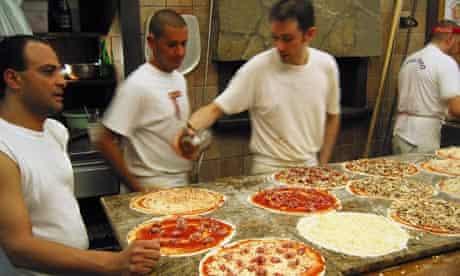 The trio of 'pizzaioli' at Pizzeria Remo