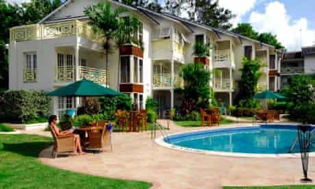 The Treasure Beach hotel in Barbados