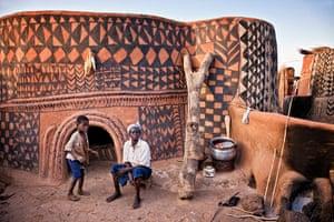 Travel Photo of Year: Painted village, Burkina Faso