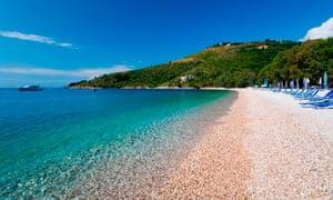 Kerasia Beach, Corfu