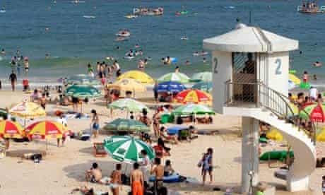 Beach at Shek O