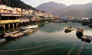 Île de Lamma: Sok Kwu Wan - Yung Shue Wan