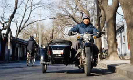 Travelling by sidecar