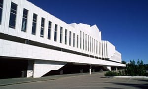 'A modernist iceberg': Finlandia Hall, designed by Alvar Aalto