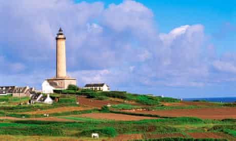 Ile de Batz, lighthouse