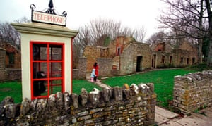 The deserted village of Tyneham