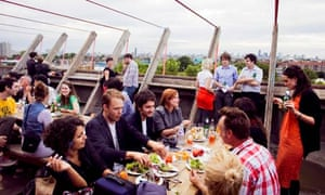 London S Top Five Rooftop Hangouts Travel The Guardian