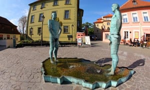 The Piss Sculpture by David Cerny, Prague