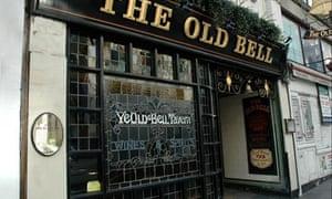 The Old Bell pub in Fleet Street, London