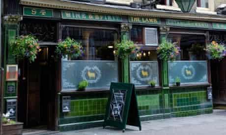 The Lamb pub in Lambs Conduit Street, London