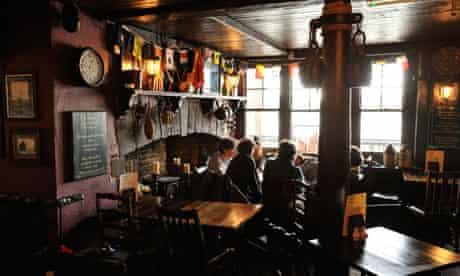 Prospect of Whitby pub, Limehouse, London