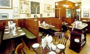 Simpson's Tavern chop house, London